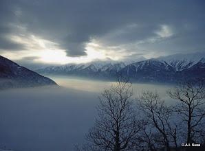 Photo: Luca Malengo - Mare di nubi - Trucco , Mompantero