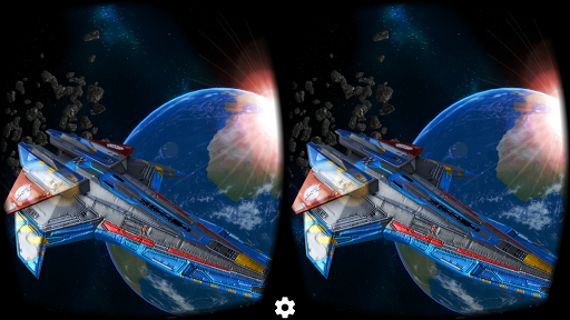Deep Space Battle Cardboard VR
