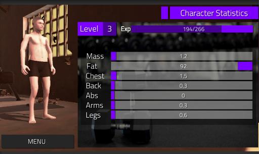 GymOrDie - bodybuilding game apkmind screenshots 2