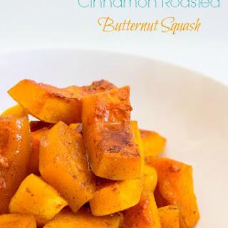 Cinnamon Roasted Butternut Squash { Vegan, Vegetarian}