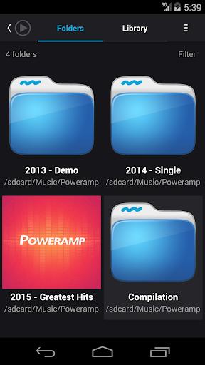 Skin for Poweramp Suru  screenshots 8