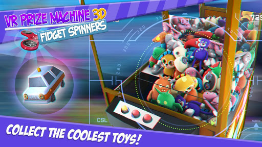 VR Prize Machine 3D Fidget Spinners