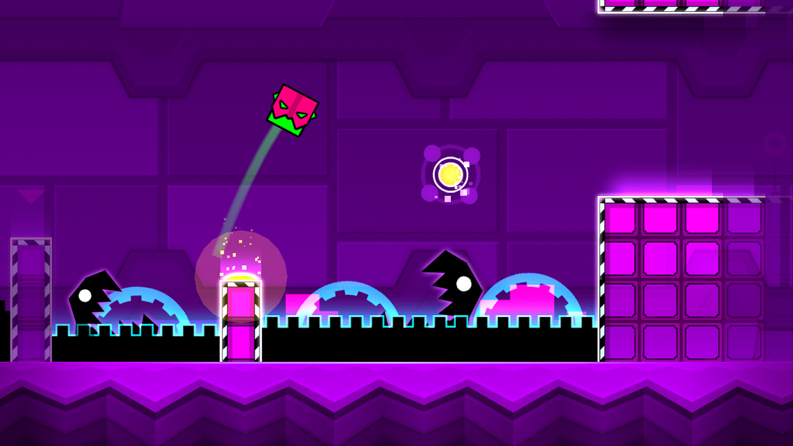 Screenshots of Geometry Dash Meltdown for iPhone