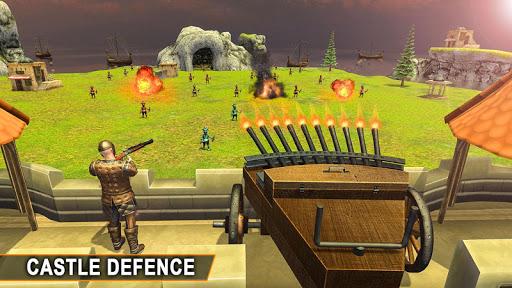 du00e9fense de mur de chu00e2teau: hu00e9ros de combat de fort  captures d'u00e9cran 2