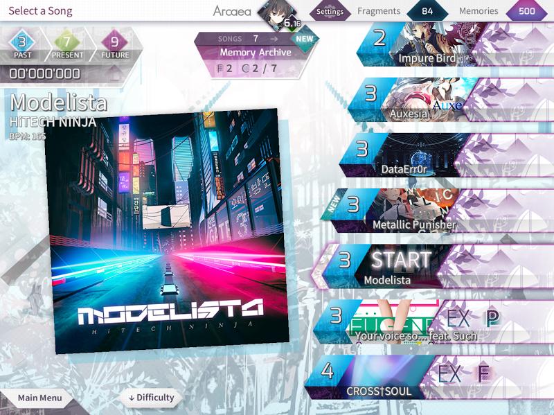 Arcaea - New Dimension Rhythm Game Screenshot 12