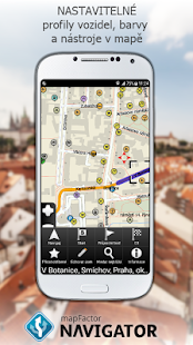 MapFactor GPS Navigation Maps - náhled
