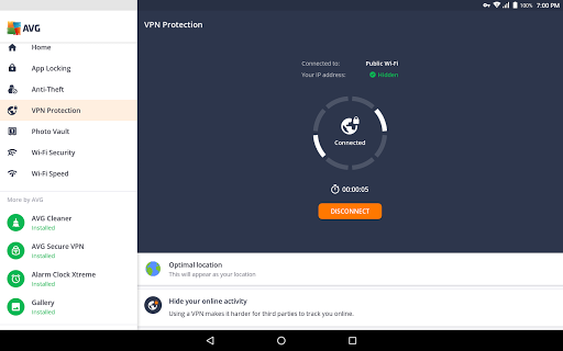 AVG AntiVirus 2019 for Android Security - screenshot