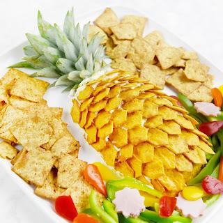 Pineapple Cheeseball Platter