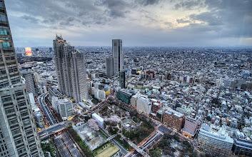 Photo: Shinjuku skyline