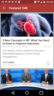 Medscape CME & Education- screenshot thumbnail