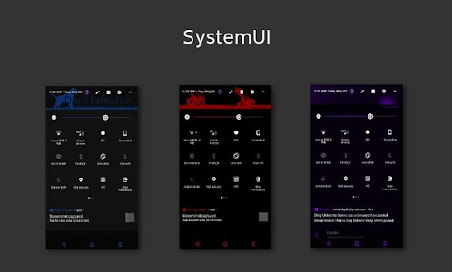 Dark Infusion Substratum Theme for Android N & O 13.2 (P)