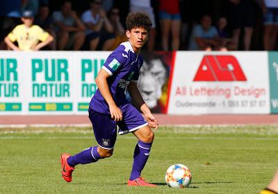 Anderlecht intègre cinq jeunes au noyau A jusqu'à la fin de la saison