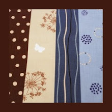 Photo: Echino *Cocoa Butterfly* Special Note * Would coordinate with espresso, or khaki straps **VERY hard to find fabric