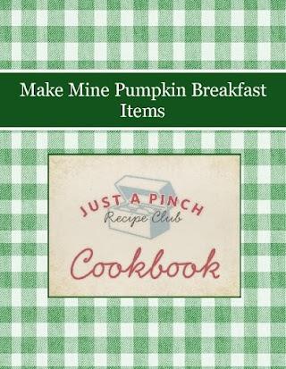Make Mine Pumpkin Breakfast Items