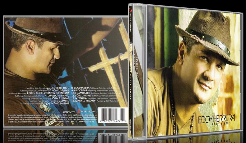Eddy Herrera - Paso Firme (2009) [MP3 @320 Kbps]