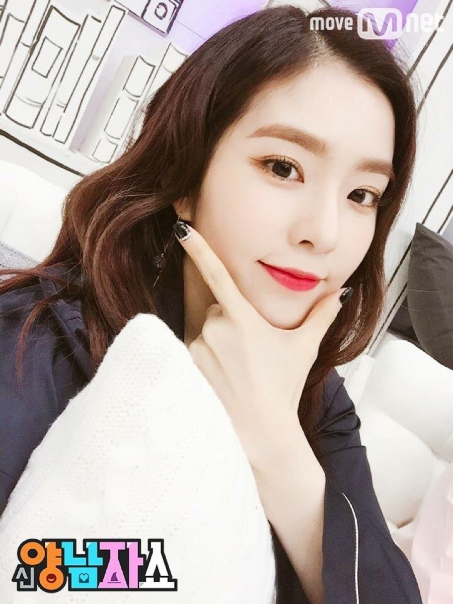 irene thinking pose