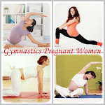 Gymnastics Pregnant Women Icon