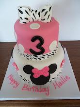 Photo: Minnie Mouse w/Zebra