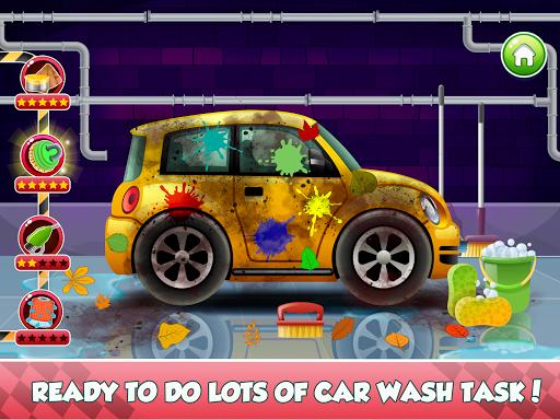 Télécharger Enfants Car Wash Salon et service Garage APK MOD (Astuce) screenshots 5