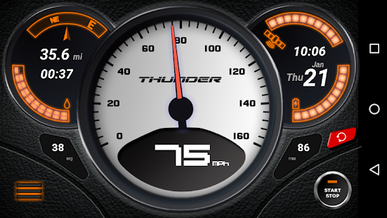 GPS Speedometer (No Ads) Screenshot