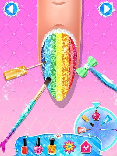 Nail Salon : Nail Designs Nail Spa Games for Girls  screenshots 9
