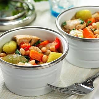 Chunky Chicken, Vegetable and Rosemary Stew.