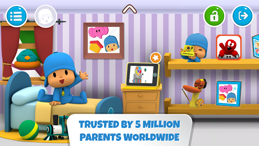 Pocoyo House: best videos and apps for kids screenshots 1