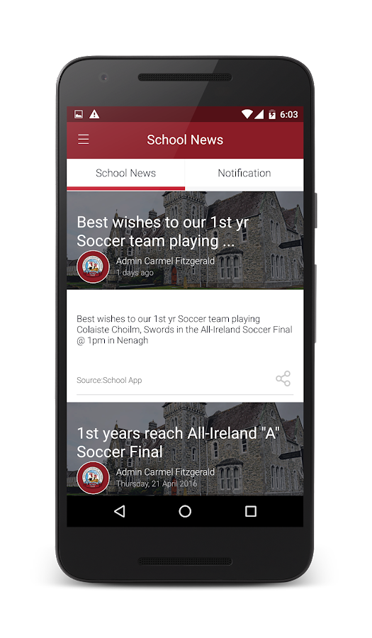 St. Brendans College Killarney- screenshot