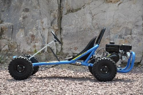6.5 hp horse power offroad dirt go kart cart bike automatic kids teenagers 4 stroke motoworks sale discount cheap blue