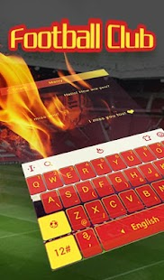 The Best Football Club Keyboard Theme - náhled