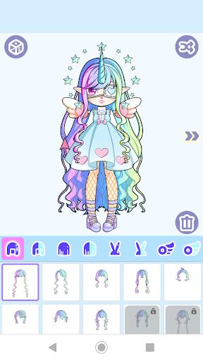 Magical Girl Dress Up: Pastel Monster Avatar 1.0.2 9
