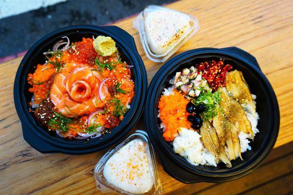 本寓食堂 - 在熱鬧繁華的國華街口,吃碗新鮮便宜的生魚片丼飯吧!