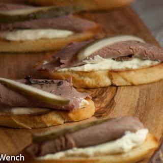 Roast Beef with Horseradish Cream Cheese