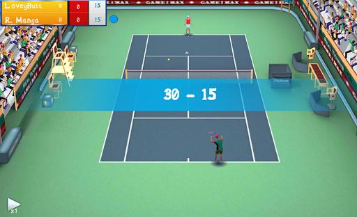 Real Tennis Manager  captures d'écran 1