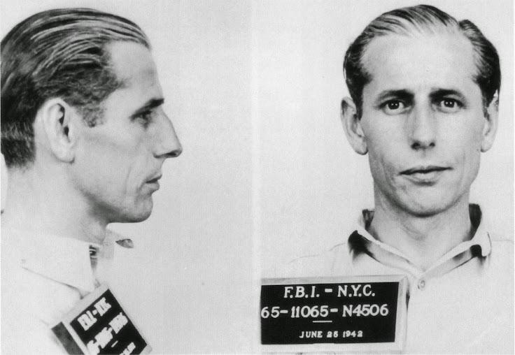 Nazi saboteur George Dash.
