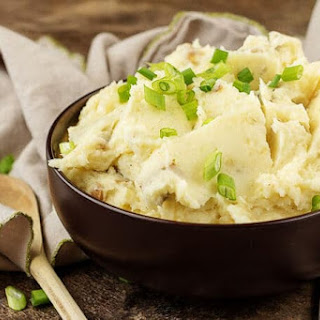 Parmesan Mashed Potatoes.