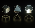 Platonic solids the elements by Joanie Lemercier
