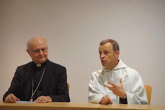 Photo: Erzbischof Robert Zollitsch und Frère Alois