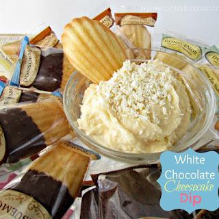 White Chocolate Cheesecake Dip & A Tea Party