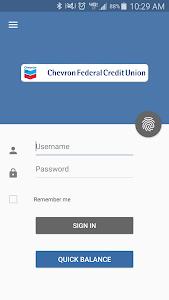 Chevron FCU Mobile Banking screenshot 0