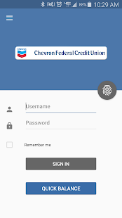 Chevron FCU Mobile Banking- screenshot thumbnail