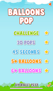 Balloons Pop PRO Screenshot