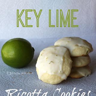 Key Lime Ricotta Cookies
