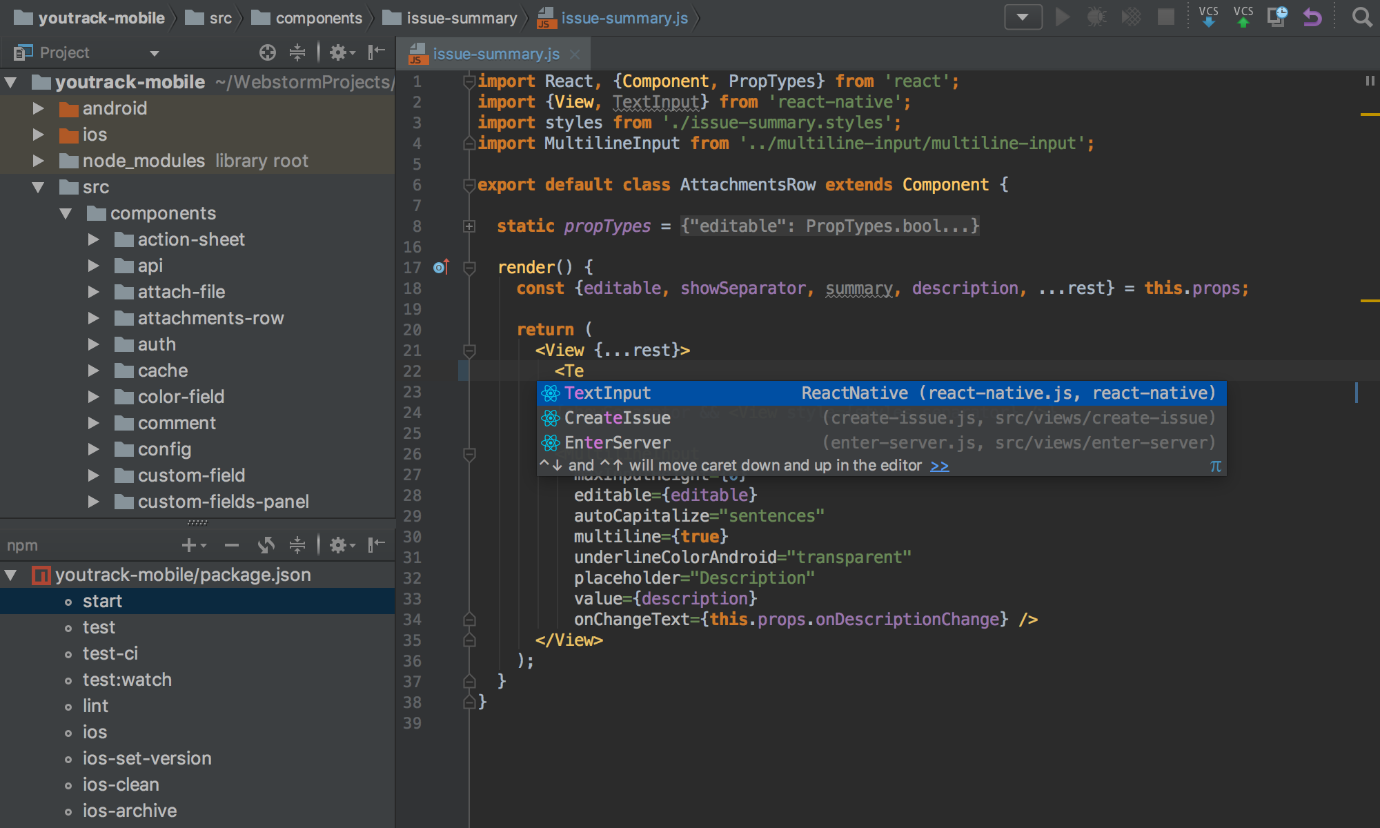 JetBrains WebStorm cho Mac
