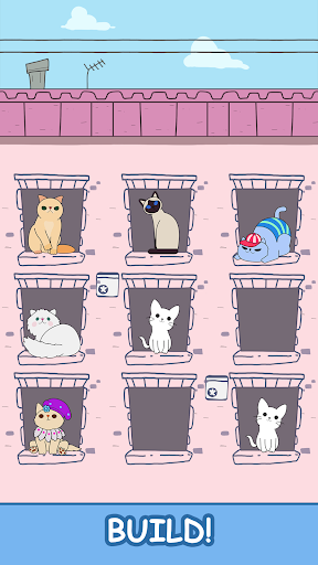 Cats Tower - Merge Kittens 2 2.18 screenshots 2