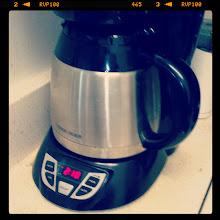 Photo: April 6: coffee maker