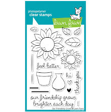 Lawn Fawn Clear Stamps 4X6 - Our Friendship Grows
