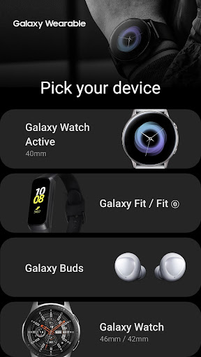 Galaxy Wearable screenshot 2