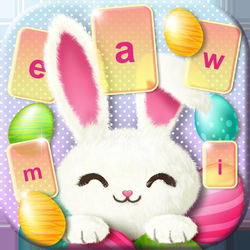 Cute Easter Bunny Keyboard Icon