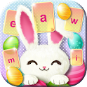 Cute Easter Bunny Keyboard icon